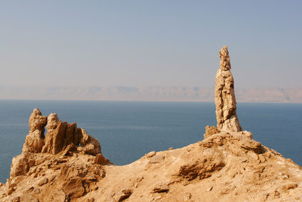 Lot's Wife - Rock formation in the Sinai Desert - MemLok.com