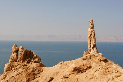 Lot's Wife - Rock formation in the Sinai Desert - MemLok.com