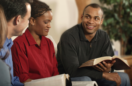 Group Bible Study and Leader